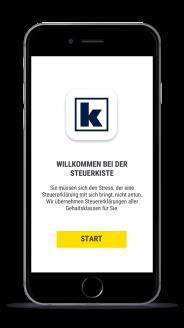 Steuererklärung App für Steuererklärung